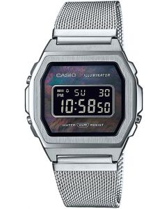 Casio Vintage A1000M-1BEF Stainless Steel